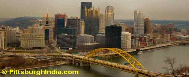 Pittsburgh View image © PittsburghIndia.com