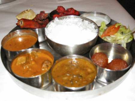 Namaste India Meat Thali © PittsburghIndia.com