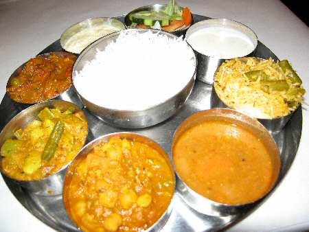 Namaste India Veg Thali © PittsburghIndia.com
