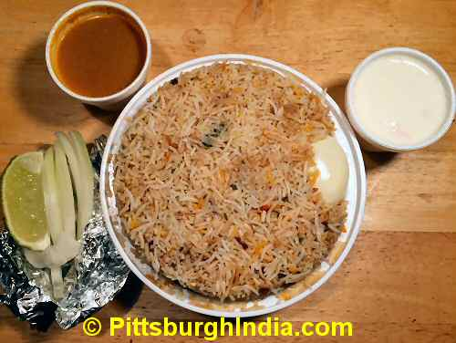 Biryani Rice Dish Pittsburgh