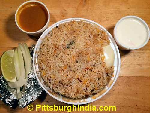 Biryani Rice Dish Pittsburgh