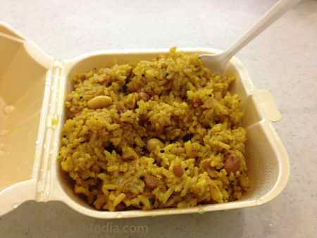 SV Temple Canteen Tamarind Rice© PittsburghIndia.com